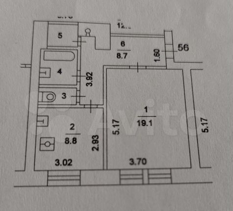 Продажа однокомнатной квартиры Москва, метро Аэропорт, улица Острякова 8, цена 13000000 рублей, 2021 год объявление №579273 на megabaz.ru