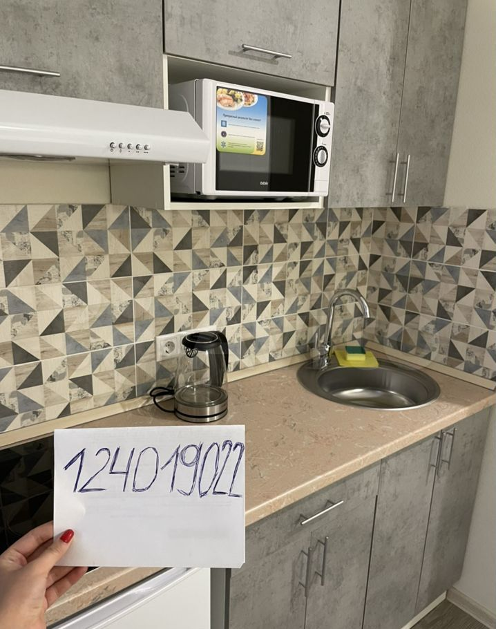 Аренда студии деревня Грибки, Адмиральская улица 6с1, цена 2000 рублей, 2021 год объявление №1374745 на megabaz.ru