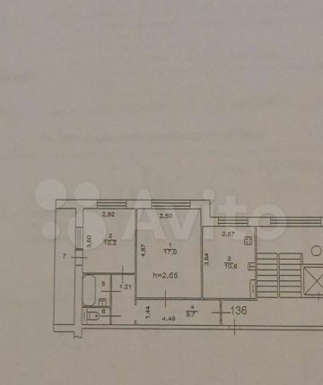 Продажа двухкомнатной квартиры Орехово-Зуево, улица Володарского 2, цена 4200000 рублей, 2021 год объявление №558626 на megabaz.ru