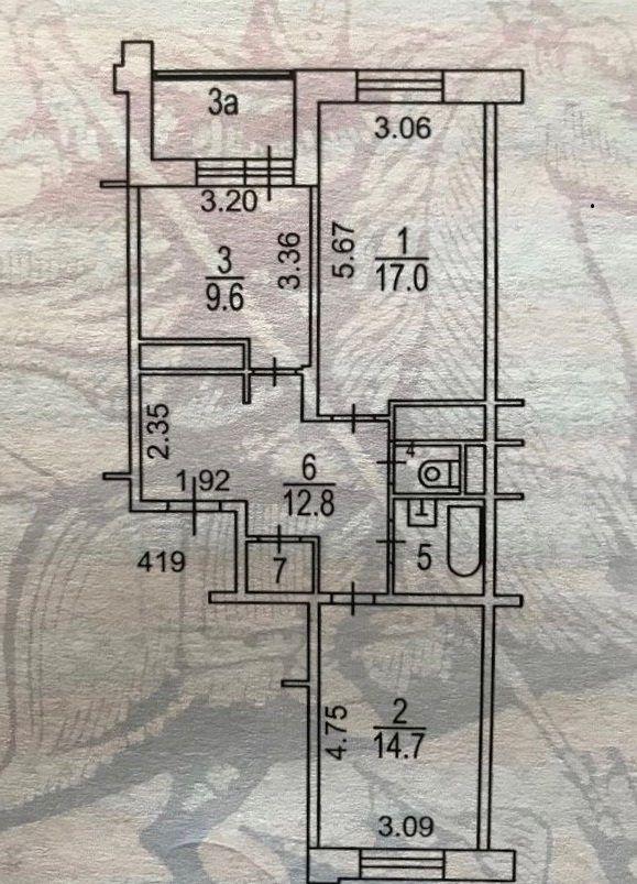 Продажа двухкомнатной квартиры Москва, метро Римская, Нижегородская улица 25, цена 12800000 рублей, 2020 год объявление №370789 на megabaz.ru