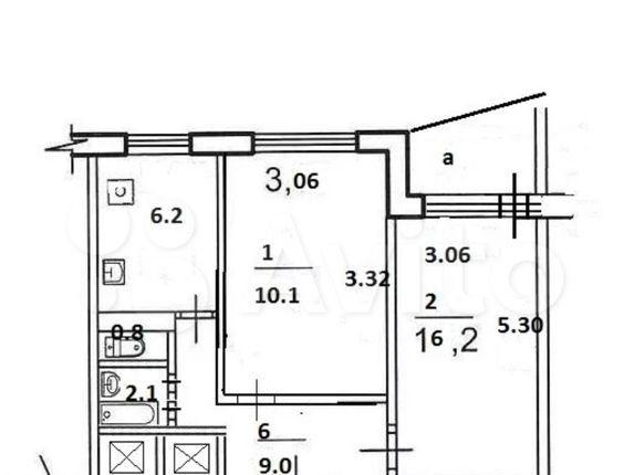 Продажа двухкомнатной квартиры Москва, метро Рязанский проспект, 1-я Новокузьминская улица 20к1, цена 7600000 рублей, 2021 год объявление №525100 на megabaz.ru