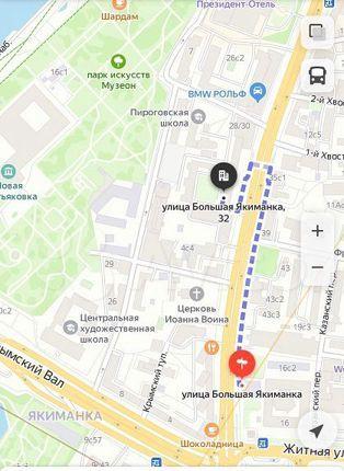 Продажа студии Москва, метро Октябрьская, улица Большая Якиманка 32, цена 4090000 рублей, 2021 год объявление №539705 на megabaz.ru