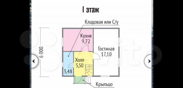 Продажа дома дачный посёлок Филиппины, Центральная улица, цена 3000000 рублей, 2021 год объявление №527018 на megabaz.ru