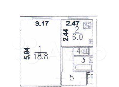 Продажа однокомнатной квартиры Москва, метро Отрадное, улица Мусоргского 1А, цена 7850000 рублей, 2021 год объявление №540732 на megabaz.ru