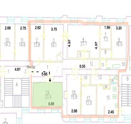 Продажа комнаты Москва, метро Чистые пруды, улица Покровка 19, цена 5900000 рублей, 2021 год объявление №542285 на megabaz.ru