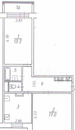 Продажа двухкомнатной квартиры Москва, метро Сухаревская, Большая Спасская улица 8, цена 22000000 рублей, 2021 год объявление №490488 на megabaz.ru