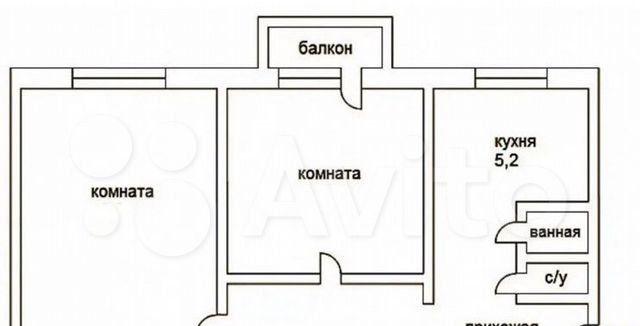 Продажа двухкомнатной квартиры Ногинск, Аэроклубная улица 10, цена 3100000 рублей, 2021 год объявление №578335 на megabaz.ru
