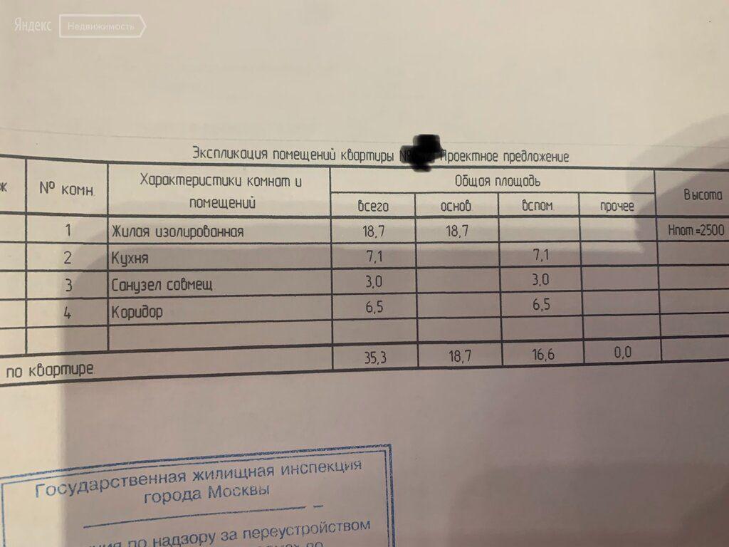 Продажа однокомнатной квартиры Москва, метро Римская, Большая Андроньевская улица 20, цена 12490000 рублей, 2021 год объявление №560570 на megabaz.ru
