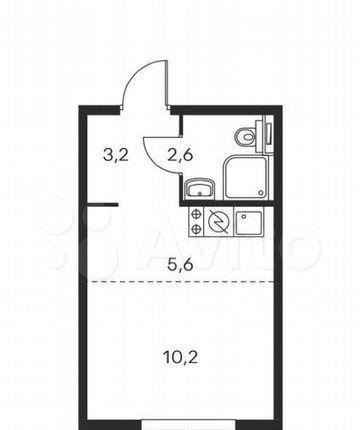 Продажа однокомнатной квартиры Москва, метро Братиславская, цена 6400000 рублей, 2021 год объявление №579212 на megabaz.ru