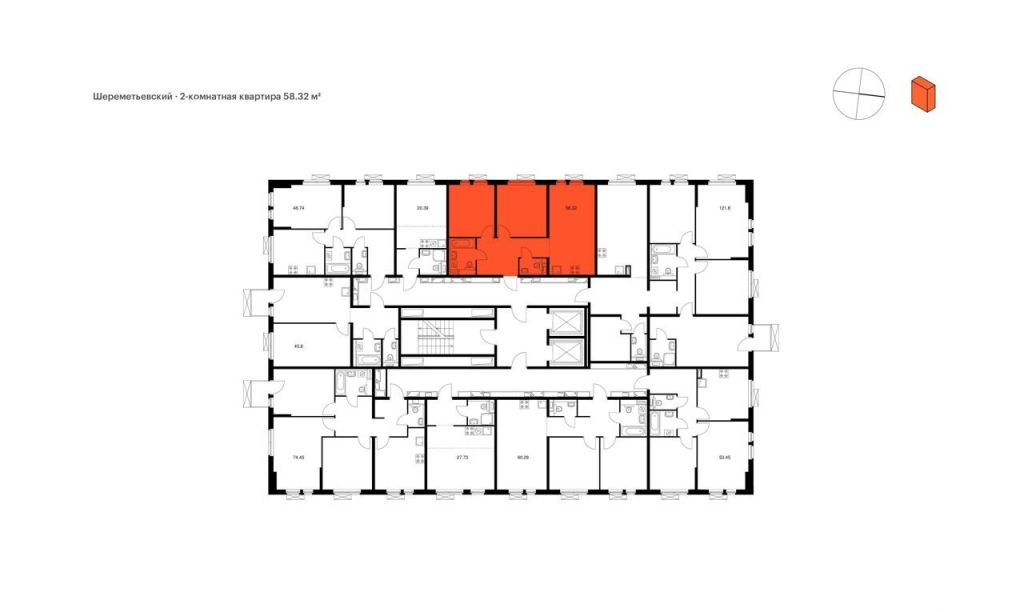 Продажа трёхкомнатной квартиры Москва, метро Савеловская, цена 13899990 рублей, 2021 год объявление №544501 на megabaz.ru