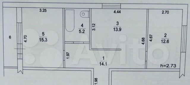 Продажа двухкомнатной квартиры деревня Оболдино, Радужная улица 14, цена 4650000 рублей, 2021 год объявление №544715 на megabaz.ru