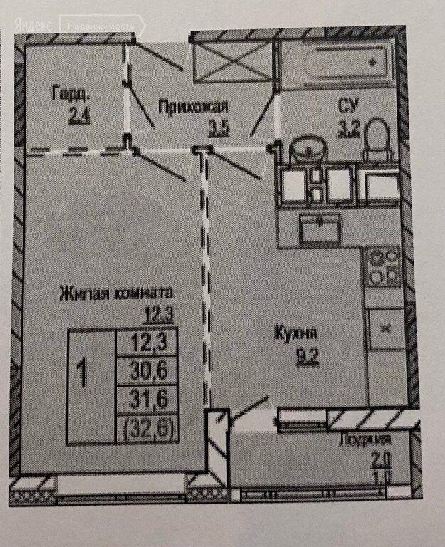 Продажа однокомнатной квартиры рабочий поселок Новоивановское, бульвар Эйнштейна 4, цена 6000000 рублей, 2021 год объявление №554729 на megabaz.ru
