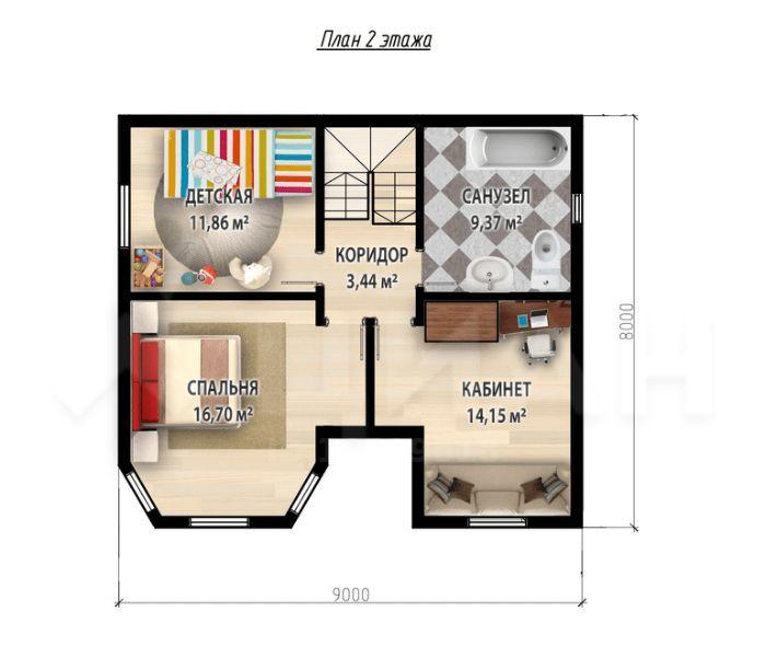 Продажа дома деревня Соколово, метро Новокосино, цена 4500000 рублей, 2020 год объявление №414675 на megabaz.ru
