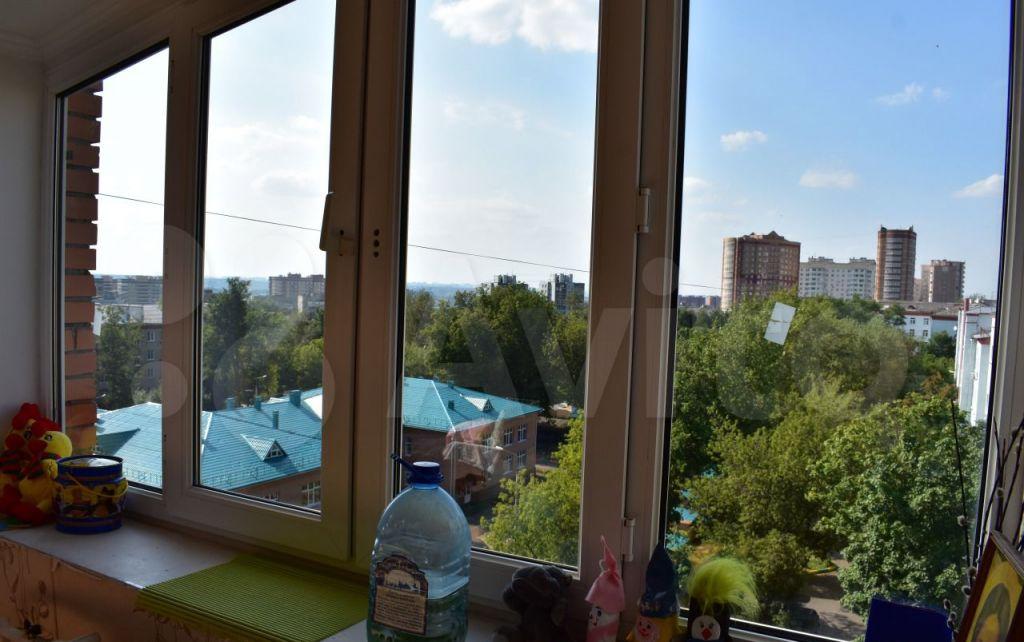 Продажа однокомнатной квартиры Лыткарино, Первомайская улица 3/5, цена 5600000 рублей, 2021 год объявление №596815 на megabaz.ru
