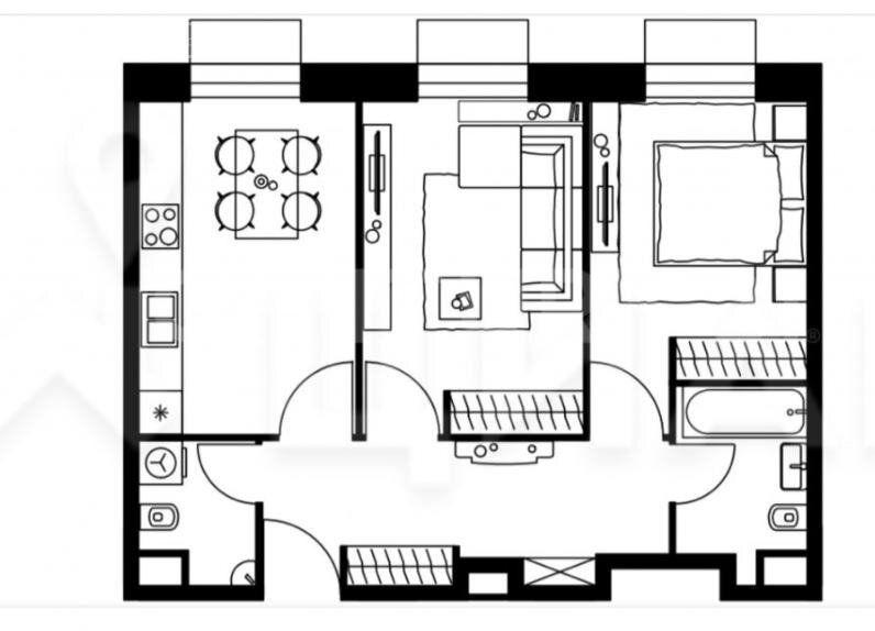 Продажа двухкомнатной квартиры Москва, метро Черкизовская, Амурская улица 1Ак5, цена 14990000 рублей, 2021 год объявление №546302 на megabaz.ru