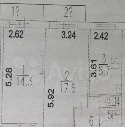Продажа двухкомнатной квартиры Москва, метро Текстильщики, улица Артюхиной 1, цена 11950000 рублей, 2021 год объявление №539488 на megabaz.ru