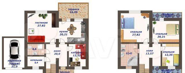 Продажа дома деревня Кабаново, цена 11900000 рублей, 2021 год объявление №549008 на megabaz.ru