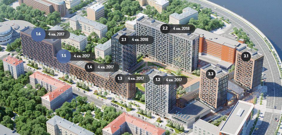 Продажа двухкомнатной квартиры Москва, метро Павелецкая, 3-й Павелецкий проезд 3, цена 14000000 рублей, 2021 год объявление №359372 на megabaz.ru
