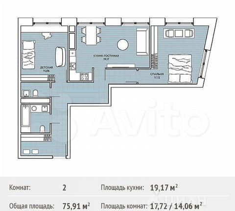 Продажа трёхкомнатной квартиры Москва, метро Филевский парк, цена 20300000 рублей, 2021 год объявление №488876 на megabaz.ru