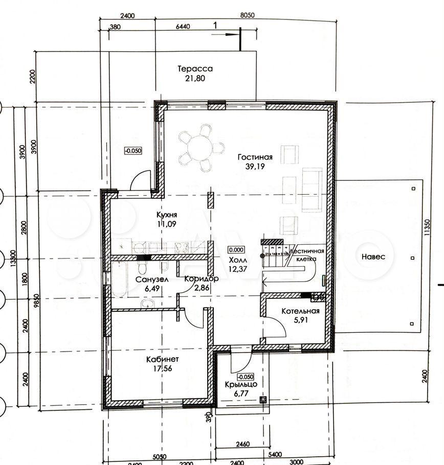Продажа дома деревня Першино, Западная улица, цена 12500000 рублей, 2021 год объявление №624287 на megabaz.ru