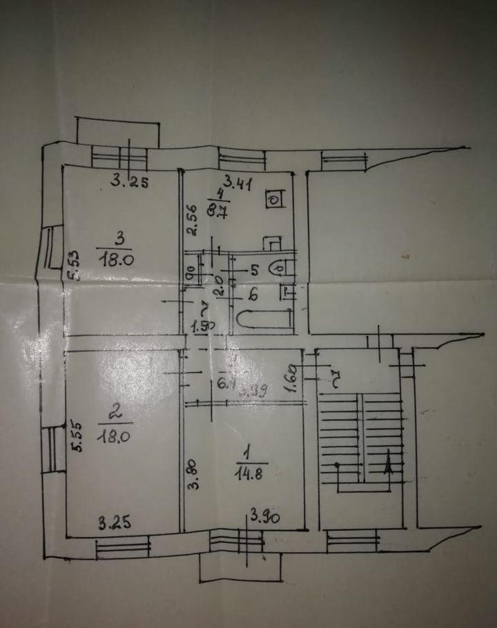 Продажа трёхкомнатной квартиры Лыткарино, улица Ухтомского 11, цена 5500000 рублей, 2021 год объявление №549609 на megabaz.ru