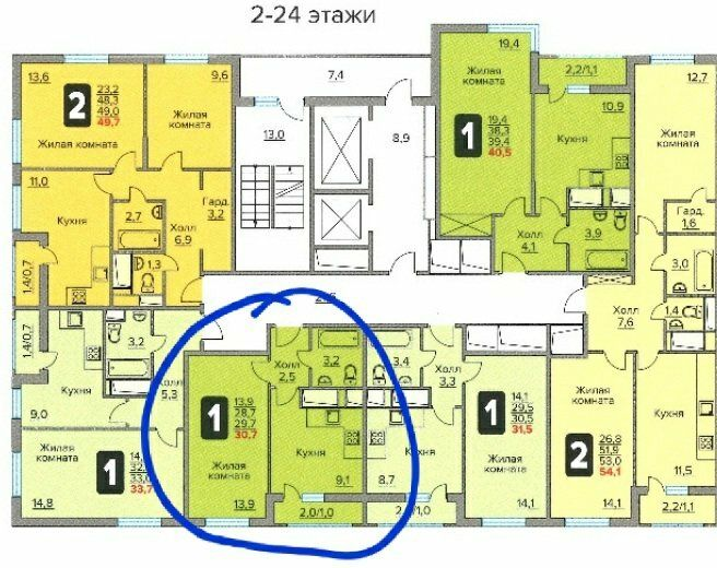 Продажа однокомнатной квартиры рабочий поселок Новоивановское, бульвар Эйнштейна 3, цена 5700000 рублей, 2021 год объявление №562054 на megabaz.ru