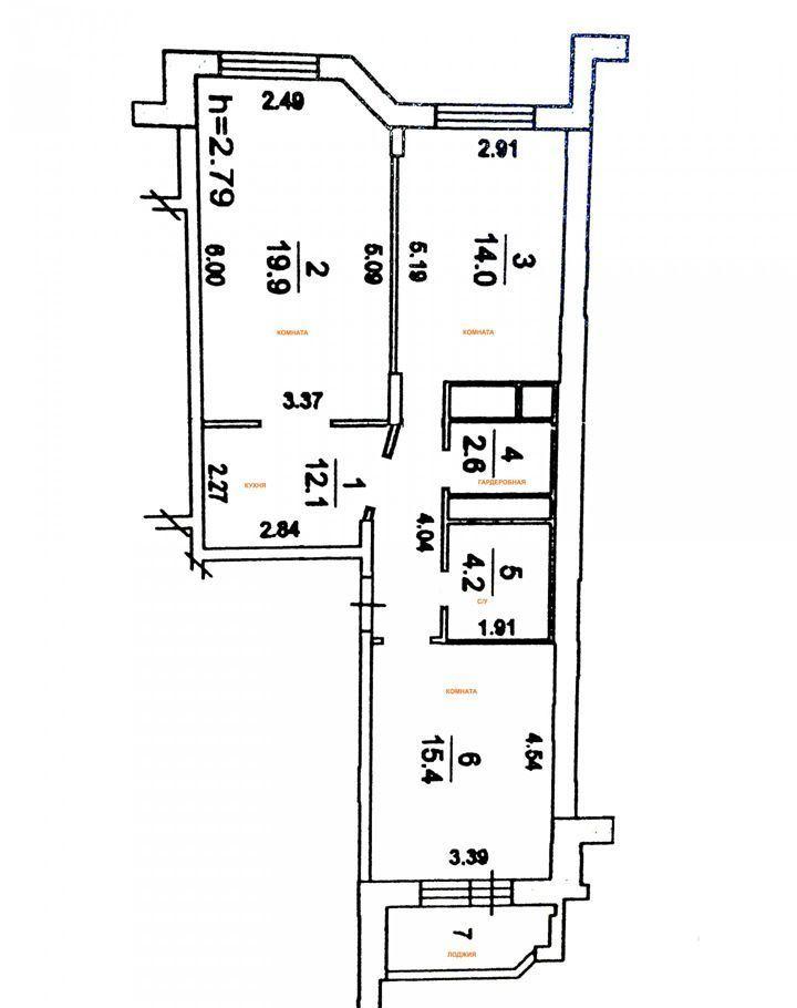 Продажа трёхкомнатной квартиры Люберцы, метро Лермонтовский проспект, Парковая улица 1/18, цена 10500000 рублей, 2021 год объявление №398805 на megabaz.ru