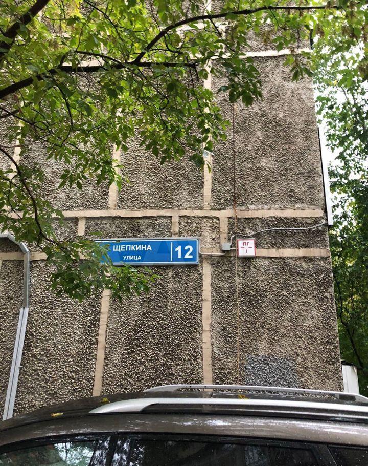 Аренда однокомнатной квартиры Москва, метро Сухаревская, улица Щепкина 12, цена 40000 рублей, 2021 год объявление №1477149 на megabaz.ru