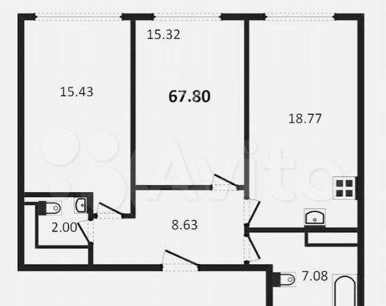 Продажа двухкомнатной квартиры Москва, метро Алексеевская, цена 12900000 рублей, 2021 год объявление №577610 на megabaz.ru