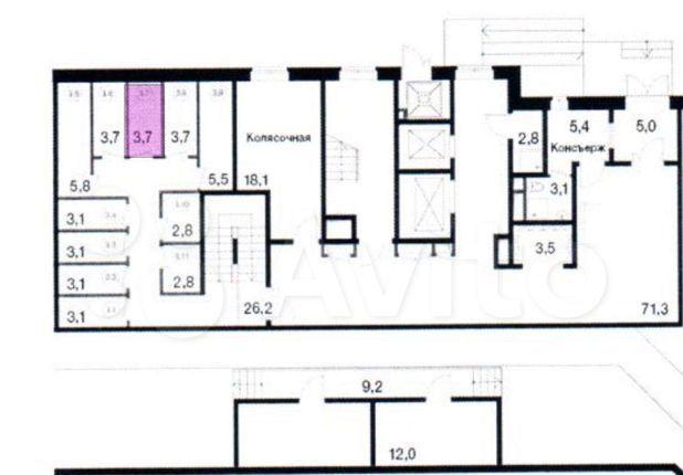 Продажа однокомнатной квартиры поселок Развилка, метро Зябликово, цена 350000 рублей, 2021 год объявление №550771 на megabaz.ru