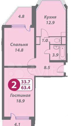 Аренда двухкомнатной квартиры Москва, метро Алексеевская, 3-я Мытищинская улица 3к1, цена 65000 рублей, 2021 год объявление №1315944 на megabaz.ru