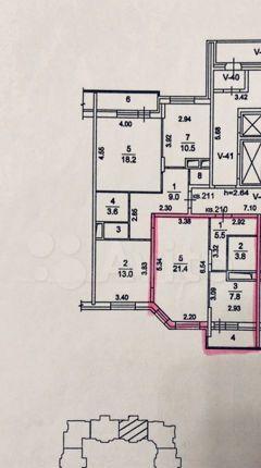 Продажа однокомнатной квартиры Москва, Лучистая улица 3, цена 4100000 рублей, 2021 год объявление №560564 на megabaz.ru