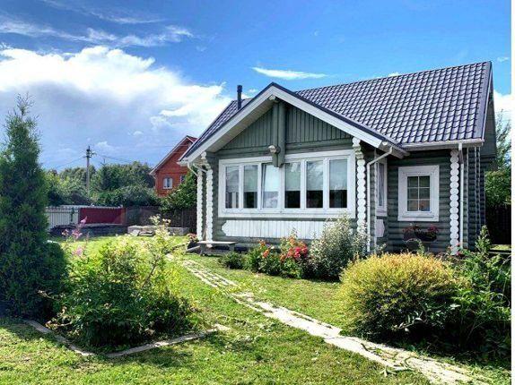 Продажа дома деревня Бережки, цена 1225000 рублей, 2021 год объявление №558424 на megabaz.ru