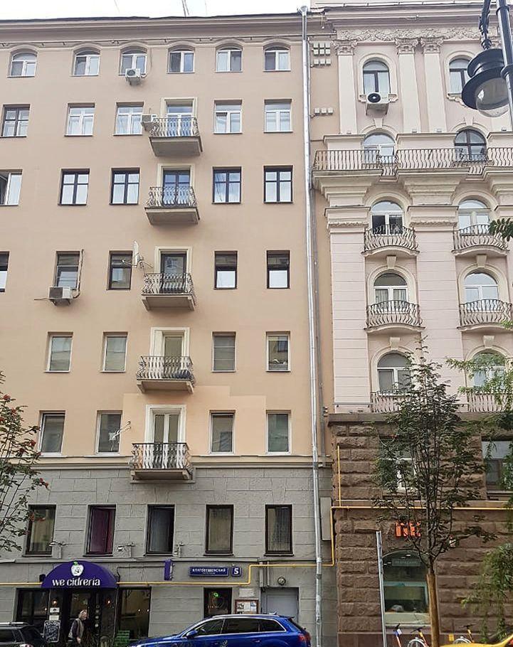 Продажа трёхкомнатной квартиры Москва, метро Маяковская, Благовещенский переулок 5, цена 14000000 рублей, 2020 год объявление №489587 на megabaz.ru