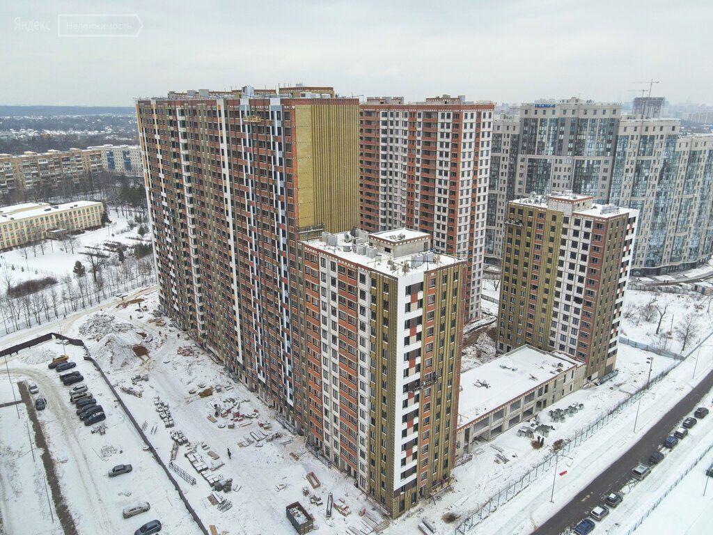 Продажа однокомнатной квартиры рабочий поселок Новоивановское, бульвар Эйнштейна 3, цена 5900000 рублей, 2021 год объявление №577042 на megabaz.ru