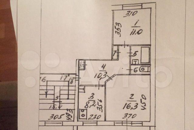 Продажа двухкомнатной квартиры село Вельяминово, цена 800000 рублей, 2021 год объявление №558754 на megabaz.ru