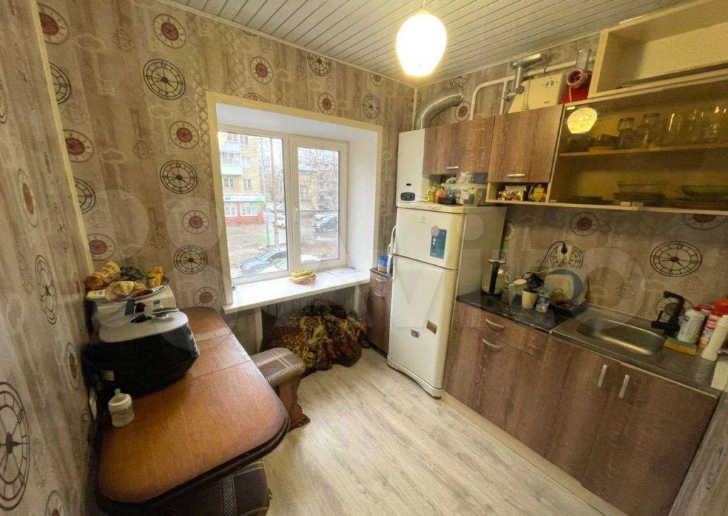 Продажа однокомнатной квартиры поселок Большевик, улица Ленина 34, цена 2290000 рублей, 2021 год объявление №590725 на megabaz.ru