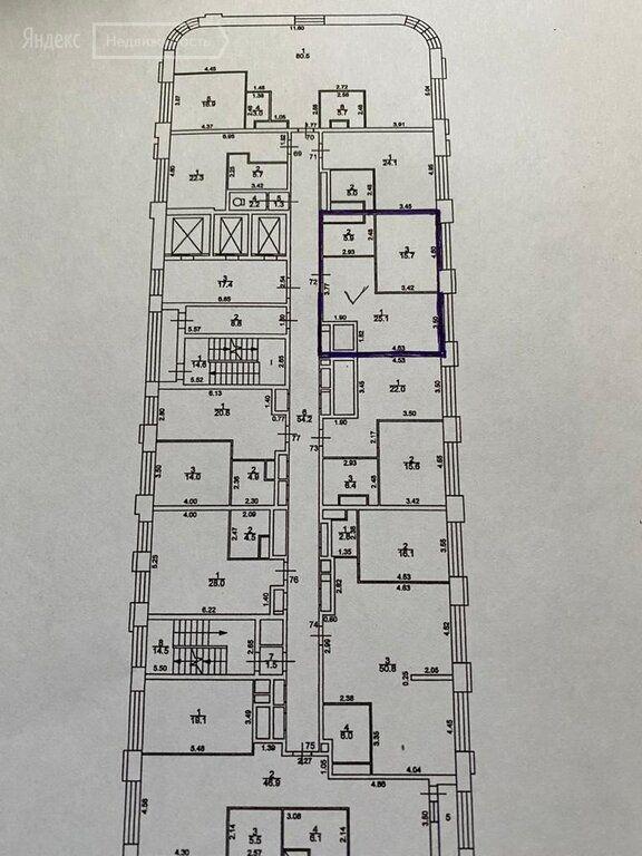 Продажа однокомнатной квартиры Москва, метро Охотный ряд, проезд Невельского 3к1, цена 13400000 рублей, 2021 год объявление №552104 на megabaz.ru