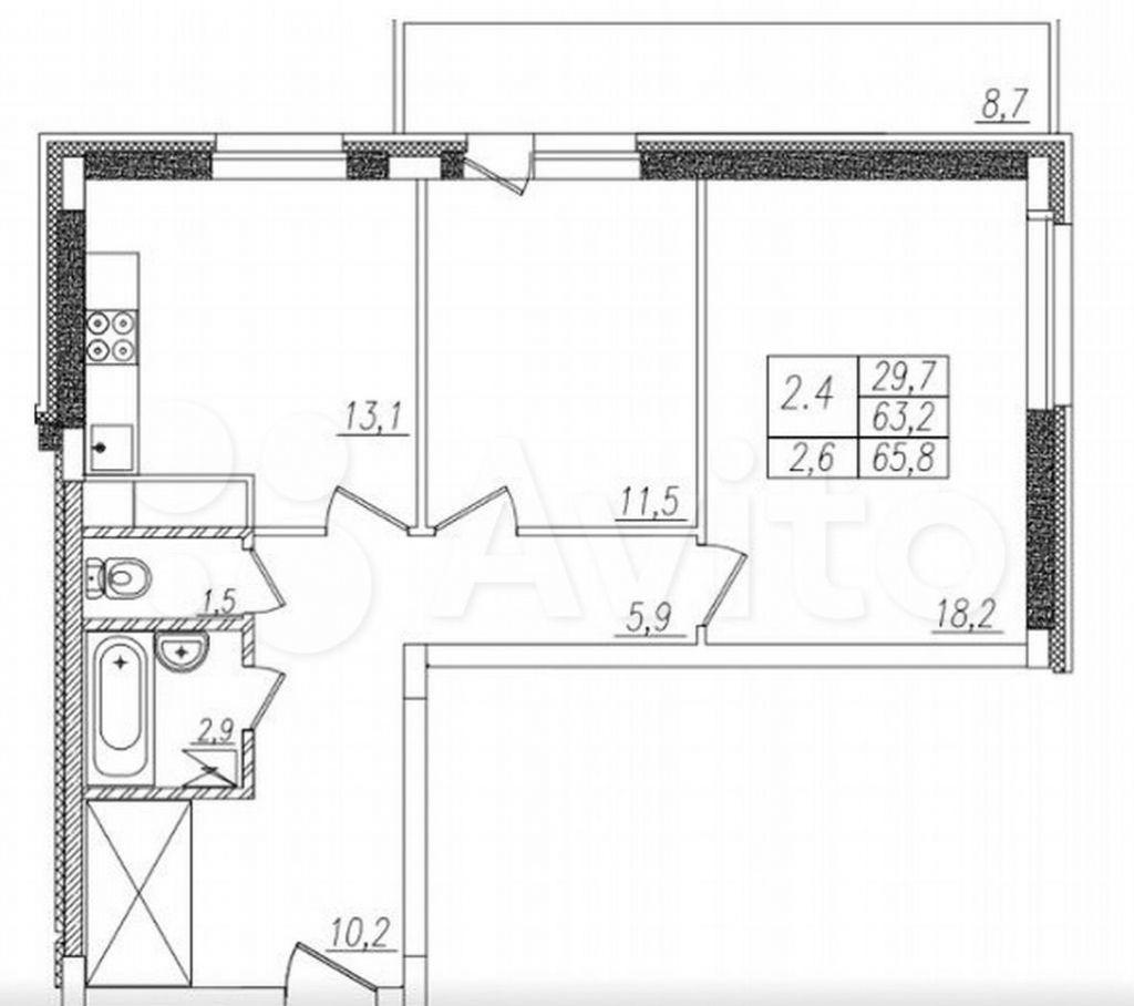 Аренда двухкомнатной квартиры деревня Голубое, цена 28000 рублей, 2021 год объявление №1380638 на megabaz.ru