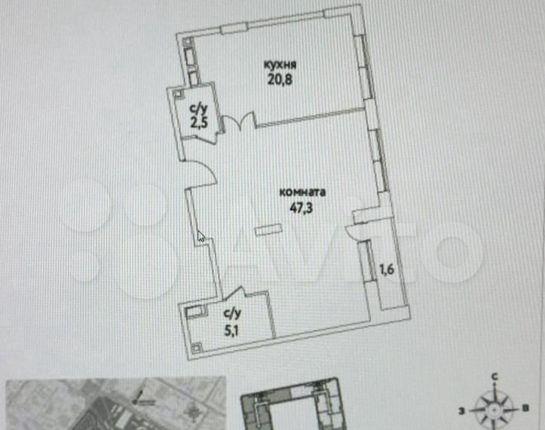 Продажа двухкомнатной квартиры Москва, метро Римская, шоссе Энтузиастов 1к2, цена 18700000 рублей, 2021 год объявление №539709 на megabaz.ru
