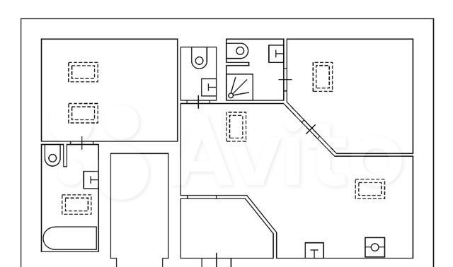 Аренда трёхкомнатной квартиры Москва, метро Тверская, Тверская улица 8к1, цена 100000 рублей, 2021 год объявление №1303141 на megabaz.ru