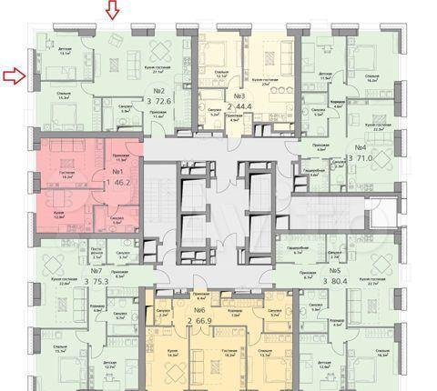 Продажа трёхкомнатной квартиры Москва, метро Фили, цена 22200000 рублей, 2021 год объявление №544048 на megabaz.ru