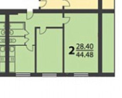 Продажа двухкомнатной квартиры Москва, метро Шипиловская, Кустанайская улица 1/62, цена 9199000 рублей, 2021 год объявление №627794 на megabaz.ru