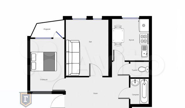 Аренда двухкомнатной квартиры Можайск, улица Дмитрия Пожарского 2, цена 25000 рублей, 2021 год объявление №1324273 на megabaz.ru