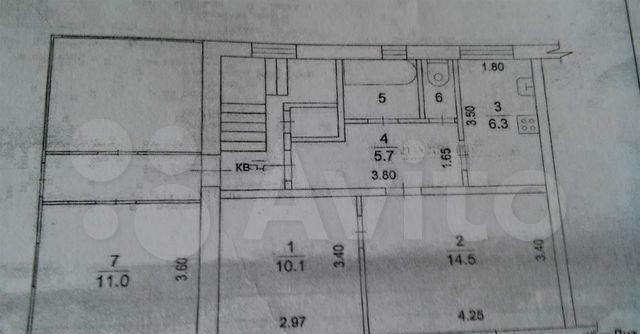 Аренда двухкомнатной квартиры село Речицы, Совхозная улица 4, цена 14000 рублей, 2021 год объявление №1343429 на megabaz.ru