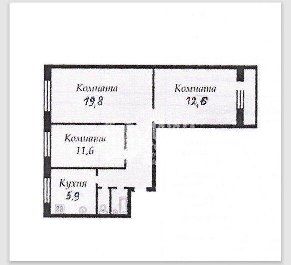 Продажа трёхкомнатной квартиры Москва, метро Сходненская, улица Фомичёвой 16к1, цена 12500000 рублей, 2021 год объявление №554262 на megabaz.ru