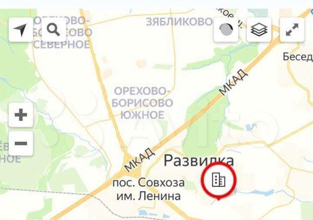 Продажа двухкомнатной квартиры поселок Развилка, метро Зябликово, Проектируемый проезд №5547, цена 5800000 рублей, 2021 год объявление №545100 на megabaz.ru