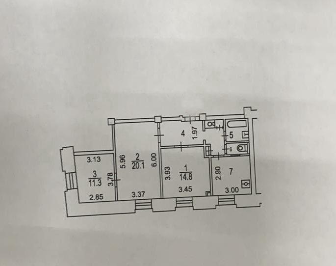 Продажа трёхкомнатной квартиры Москва, метро Парк Победы, площадь Победы 2к2, цена 24000000 рублей, 2021 год объявление №558329 на megabaz.ru