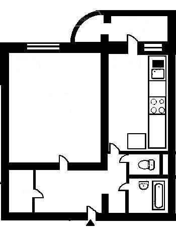 Продажа однокомнатной квартиры Москва, метро Варшавская, Артековская улица 9к1, цена 11500000 рублей, 2021 год объявление №555025 на megabaz.ru