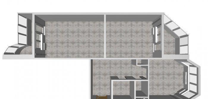 Аренда двухкомнатной квартиры деревня Медвежьи Озёра, Юбилейная улица 12, цена 25000 рублей, 2021 год объявление №1209621 на megabaz.ru